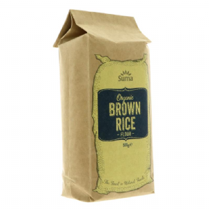 Brown Rice Flour (Organic)  | Buy Online at The Asian Cookshop.